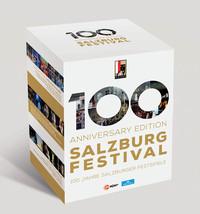 Various Artists - Salzburg Festival - 100 Anniversary Edition (Region A Blu-ray) - Cover