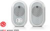 JBL 104-BT Powered Bluetooth Desktop Reference Monitors - White (Pair)