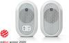 JBL 104-BT Powered Bluetooth Desktop Reference Monitors - White (Pair)