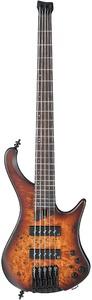 Ibanez EHB1505 Headless 5 String Bass Guitar (Dragon Eye Burst Flat)