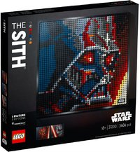 LEGO® Art - Star Wars - The Sith (3406 Pieces) - Cover