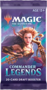 Magic: The Gathering - Commander Legends Single Draft Booster (Trading Card Game) - Cover