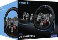 Logitech G - G29 Driving Force Racing Wheel + Pedals (PS4, PS3, PC) - Cover