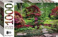 Japanese Garden, The Hague, Netherlands Puzzle - Mindbogglers (1000 Pieces) - Cover