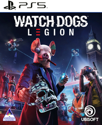 Watch Dogs: Legion (PS5) - Cover