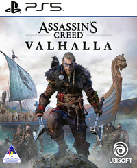 Assassin's Creed Valhalla (PS5) - Cover