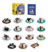 Sushi Cats Magnet Set: They're Magical! - Tange & Nakimushi Peanuts (Paperback)
