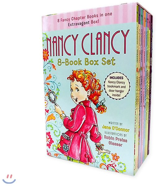 Fancy Nancy 8 Book Box Set Jane O Connor Paperback Books Online Raru
