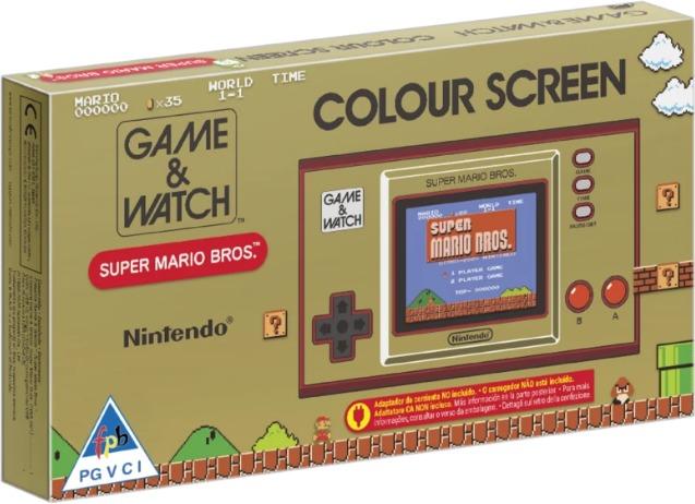 Nintendo - Game & Watch - Super Mario Bros. - Mario 35th anniversary