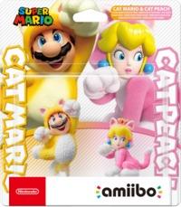 amiibo - Super Smash Bros. Collection - Cat Mario & Cat Peach (2-in-1 Pack) (Nintendo Switch)