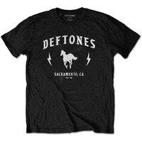 Deftones - Electric Pony Unisex T-Shirt - Black (Small) - Cover