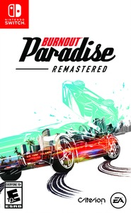 Burnout Paradise Remastered (US Import Switch) - Cover
