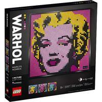 LEGO® Art - Andy Warhol's Marilyn Monroe (3341 Pieces)