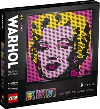 LEGO® Art - Andy Warhol's Marilyn Monroe (3341 Pieces) - Cover