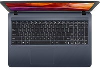 ASUS - X543NA-C45G0T Celeron N3350 4GB RAM 500GB HDD Win 10 Home 15.6 inch Notebook - Grey - Cover
