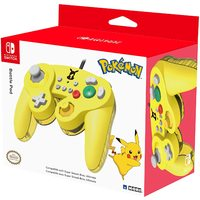 HORI Nintendo Switch Battle Pad (Pikachu) Gamecube Style Controller (US Import Switch) - Cover