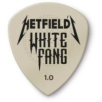 Dunlop James Hetfield White Fang Custom Flow 1.00mm Plectrums (Pack of 6)