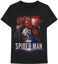 Marvel - Spider Games Unisex T-Shirt - Black (X-Large) - Cover