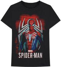 Marvel - Spider-man Games 1 Unisex T-Shirt - Black (Large) - Cover