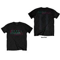 Incubus - '17 Tour Unisex T-Shirt - Black (Small) - Cover