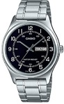 Casio MTP-V006D-1B2UDF Analogue Wrist Watch (Silver and Black)