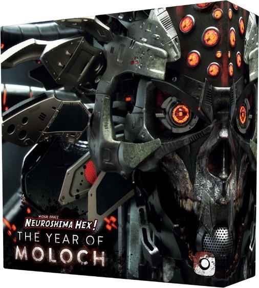 Neuroshima Hex! 3.0 - The Year of Moloch (Board Game)