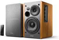 Edifier R1280DB Active Bookshelf / Multimedia Bluetooth Speaker (Brown) - Cover