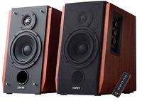 Edifier R1700BT Active Bookshelf / Multimedia Bluetooth Speaker (Brown) - Cover