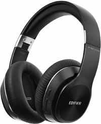 Edifier W820BT Bluetooth Stereo Headphones (Black) - Cover