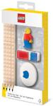 LEGO IQHK - LEGO Stationery Set with Minifigure (8 Pieces)