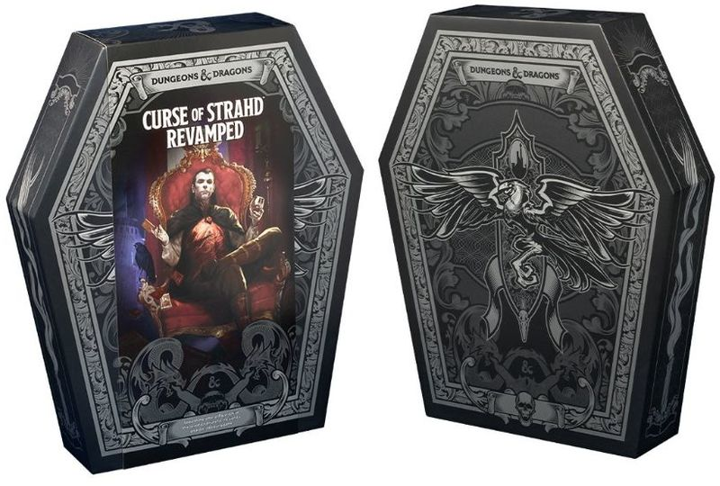 Dungeons & Dragons - Curse of Strahd Revamped (Role Playing Game)