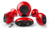 Edifier E255 Wireless 5.1 Surround Sound Active Speaker System (Red)
