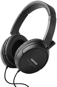 Edifier H840 Wired Over-Ear Hifi Headphones (Black) - Cover