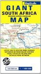 Road Map Giant South Africa - Map Studio (Sheet map, folded)