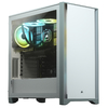 Corsair - 4000D Tempered Glass Mid-Tower ATX Case - White