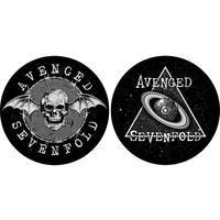 Avenged Sevenfold - Skull / Space Slipmat (Set of 2)