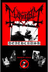 Mayhem - Deathcrush Textile Poster