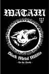 Watain - Black Metal Militia Textile Poster
