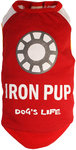 Dog's Life - I Am An Iron Pup Tee - Red (Large)