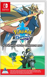 Pokémon Sword + Pokémon Sword Expansion Pass (Nintendo Switch)