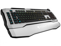 ROCCAT - Horde AIMO RGB Membranical Gaming Keyboard - White