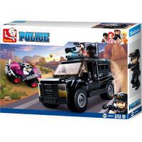 Sluban Police - Gepanserde ME Bus (293 Pieces)
