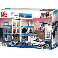 Sluban Police - Police Headquarters (606 Pieces)