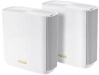 ASUS ZenWiFi AX (XT8) 2PK White Wireless Router Tri-band (2.4 GHz / 5 GHz / 5 GHz) Gigabit Ethernet - Cover