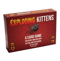Exploding Kittens - Afrikaans & English Bilingual Edition (Party Game) - Cover