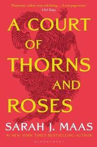 A Court Of Thorns & Roses - Sarah J. Maas (Paperback) - Cover