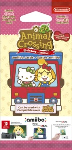Animal Crossing - Sanrio amiibo Cards 6 pieces Card Pack - Cover