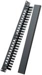 Ugreen 50port LAN Cable Management Rack - Black