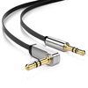 Ugreen 3.5mm M to M 90° Right Angle 5m Audio Cable - Black