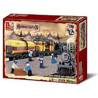 Sluban Railway Station - Special Train (328 Pieces)